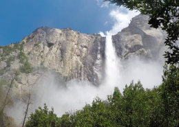 Bridalveil Falls on Private Yosemite Tour