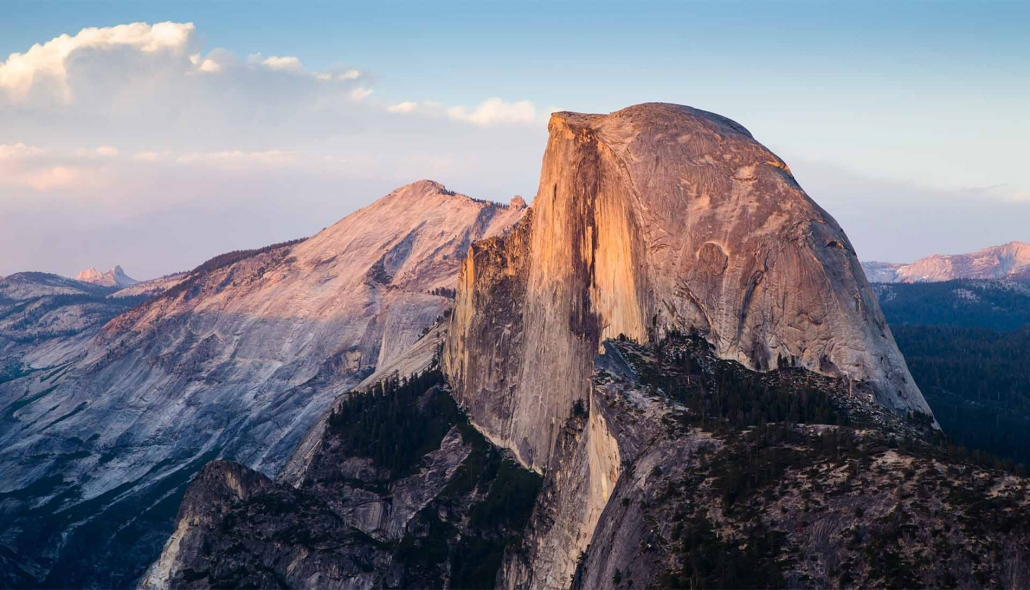 Half Dome and Cloud's Rest