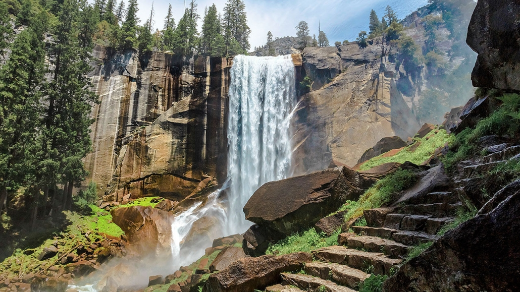 Vernal Falls on White Wolf Private Tour