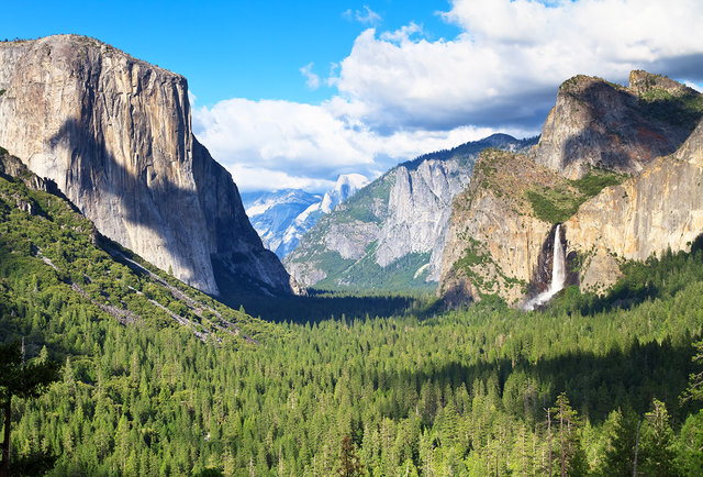 Tunnel View on Luxury Private Tour