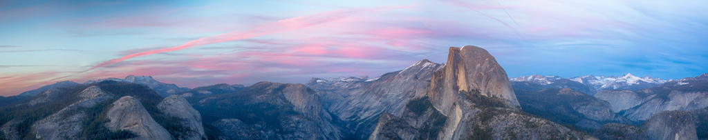 Half Dome View White Wolf Tours