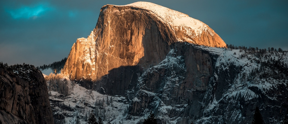 Half Dome on Winter Private Tour