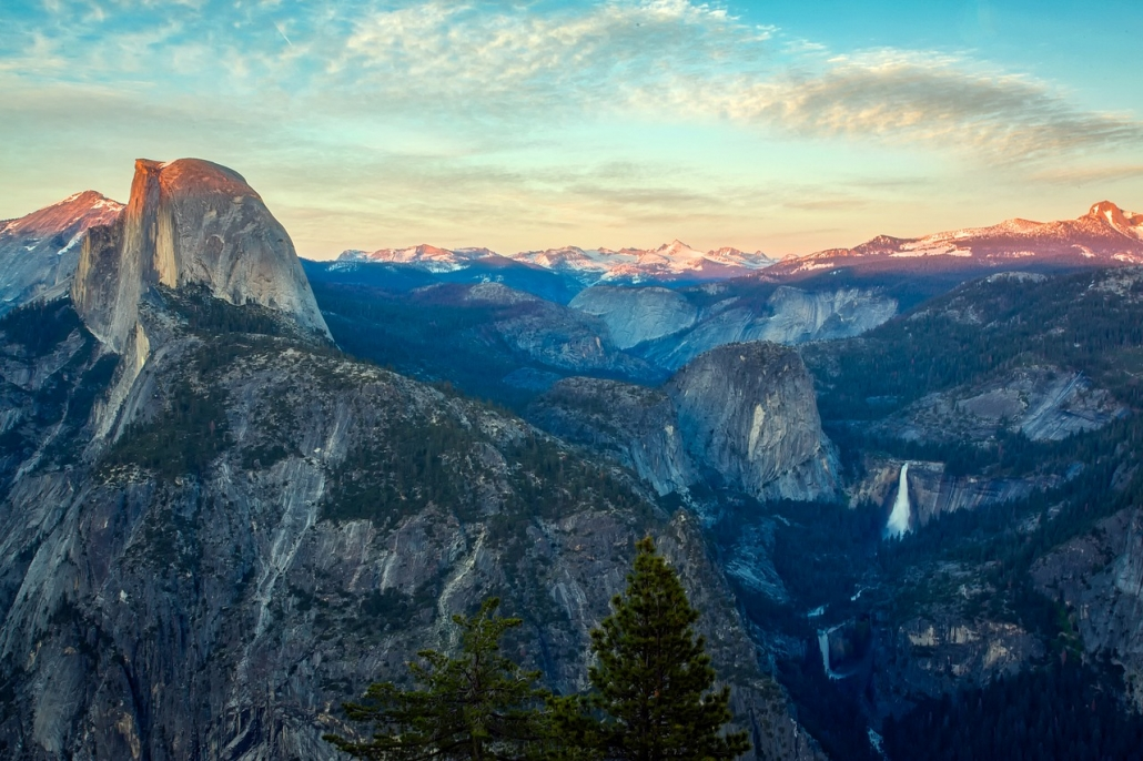 Glacier Point Lookout on Private Yosemite Tour