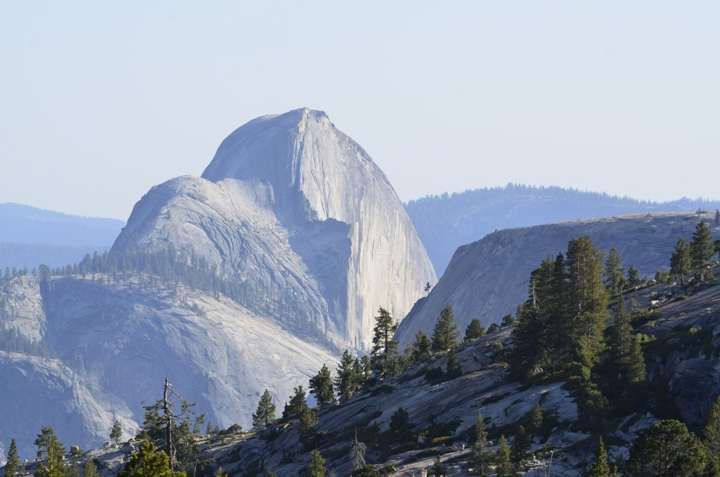 Yosemite best lookout point on private tour from san francisco