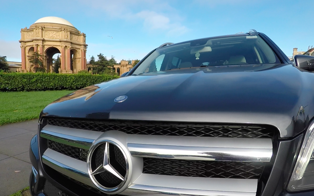 Luxury Private Mercedes Tour Palace of Fine Arts