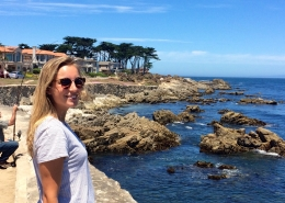 Female Blogger on PCH Luxury Private Tour