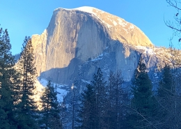 Half Dome on Luxury Private Yosemite Tour