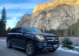 Mercedes Benz Luxury Private Tour in Yosemite