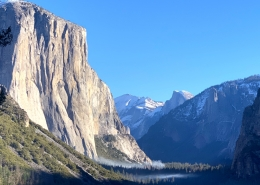 Tunnel View on Luxury Private Yosemite Tour