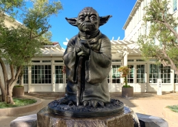 Yoda Statue Luxury White Wolf Tour