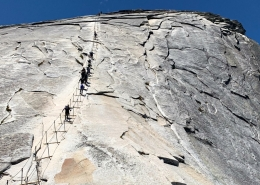 Half Dome Cable Hike
