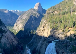 Half Dome Private Hike and Waterfall