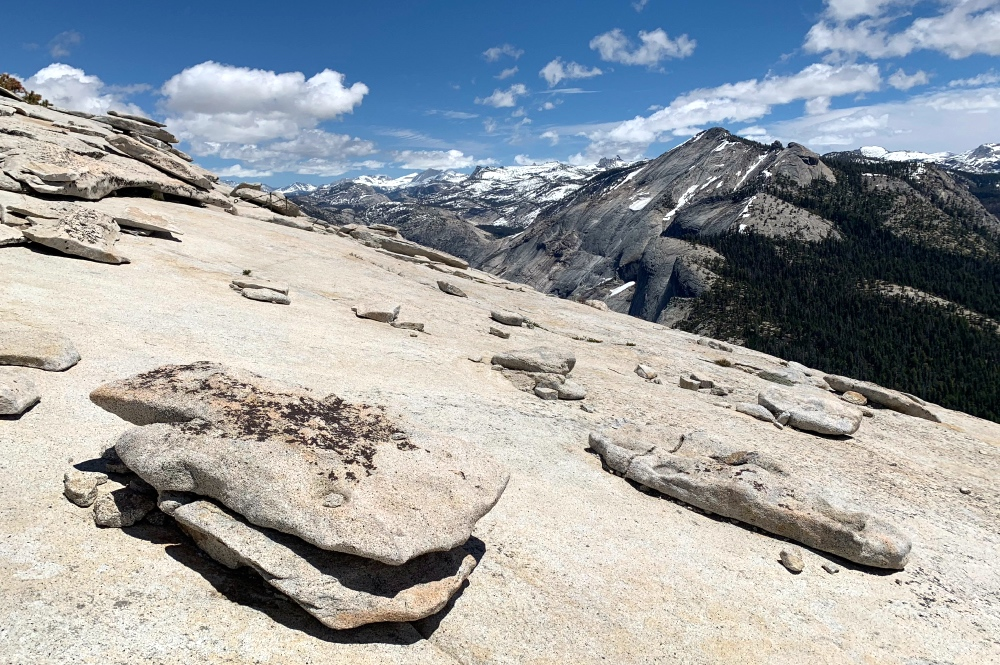 Top of Half Dome View