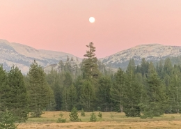 Yosemite Full Moon