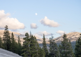 Yosemite Moon on Private Three Day Hike