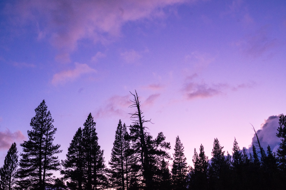 Yosemite Purple Sky