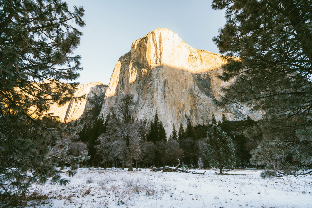 El Capitan in December