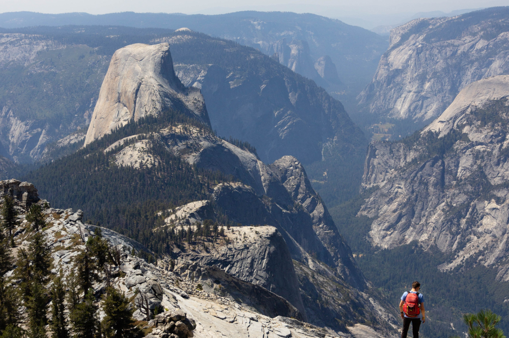 Half Dome view from Clouds Rest