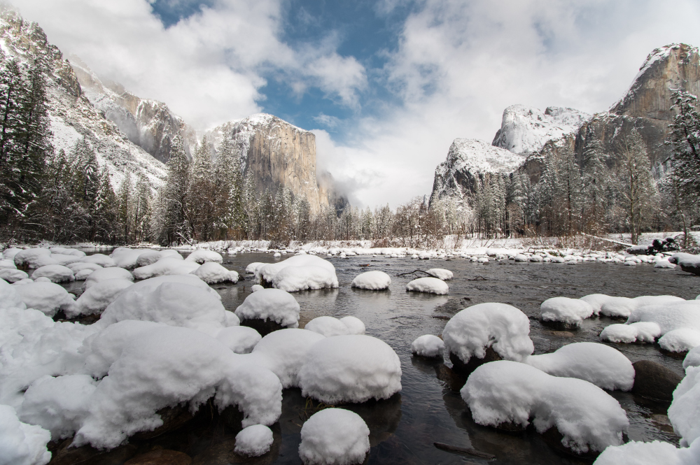 Private Yosemite Tour in Winter from San Francisco
