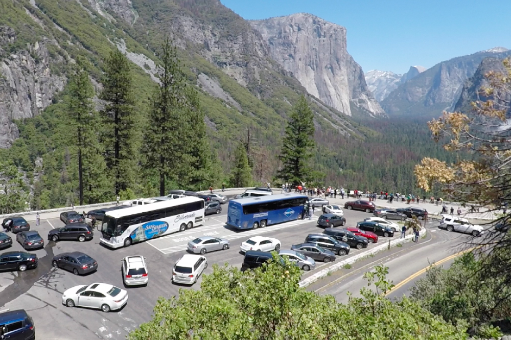 Tunnel View Traffic and Parking Problems