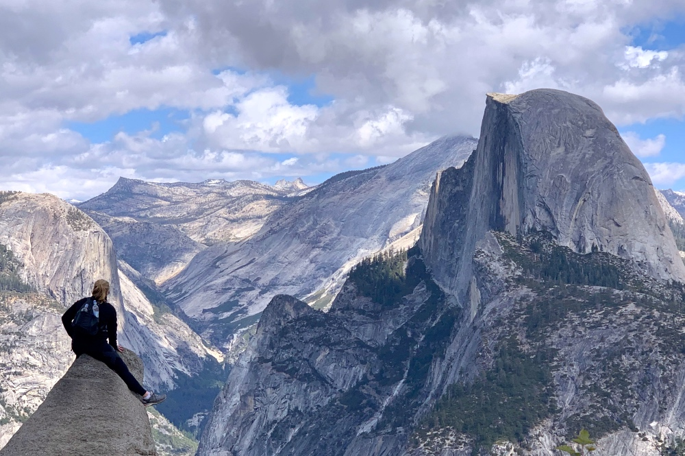 Half Dome on Private Yosemite Guided Hiking Tour