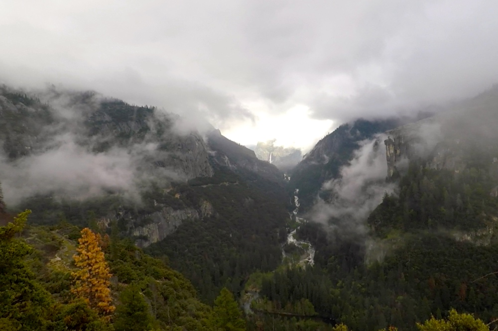 Merced River Canyon Clouds