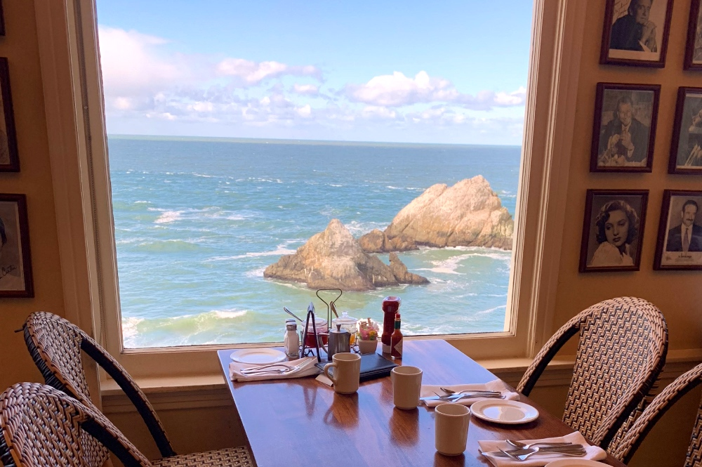 Cliff House Lunch View