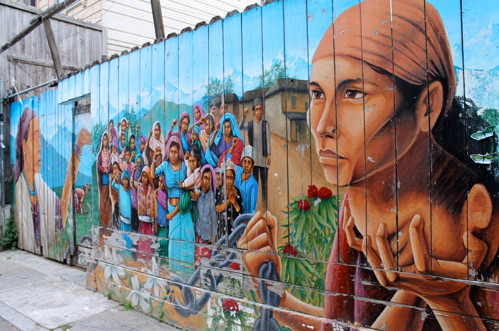 Mission Mural on San Francisco Private Tour