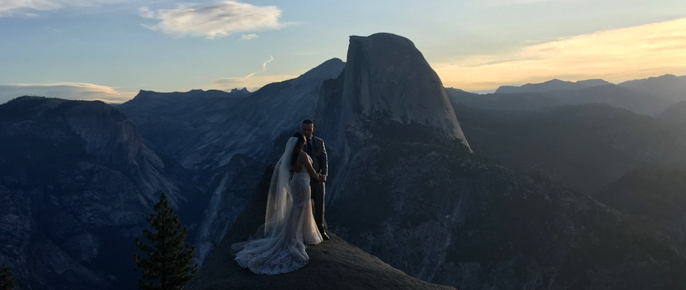Married in Yosemite
