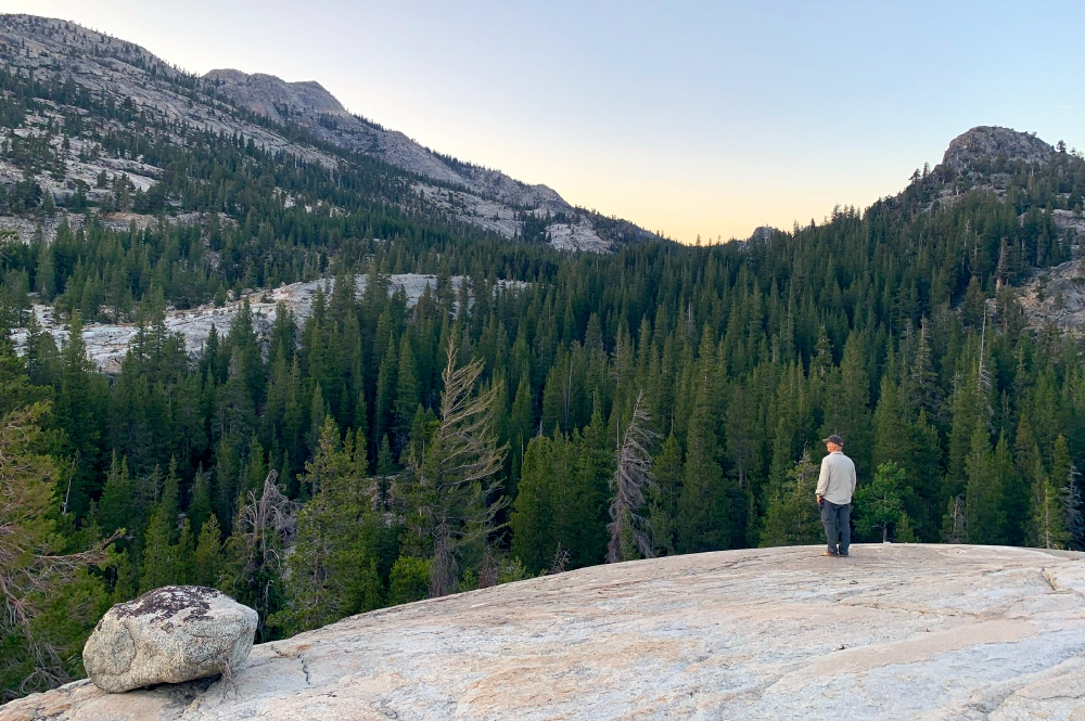 Hiking without Technology in Yosemite